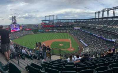 Coors Field section U335