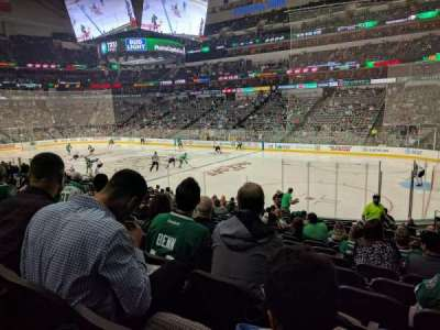 American Airlines Center, section: 116, rangée: R, siège: 4
