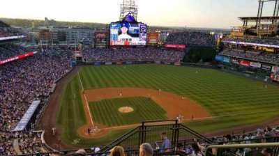 Coors Field section U327