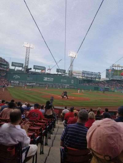 Fenway Park section Field Box 42