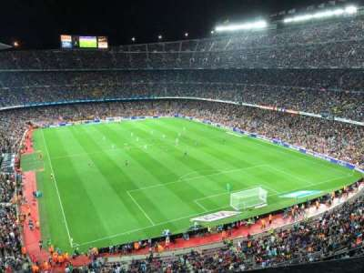 Camp Nou, section: 416, rangée: 1, siège: 10