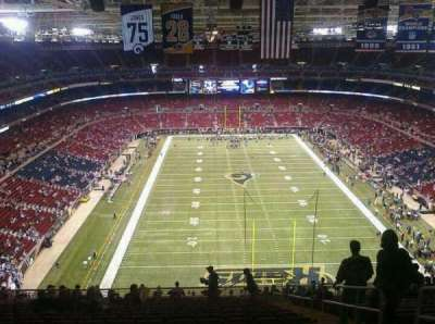 The Dome at America's Center section 12