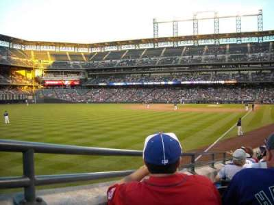 Coors Field section 150