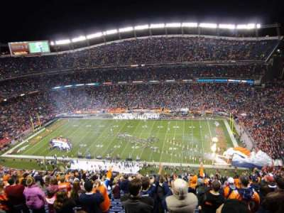 Empower Field at Mile High Stadium section 505