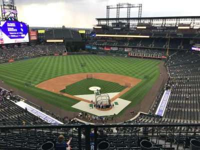 Coors Field section U332