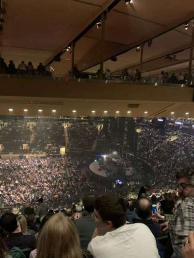Madison Square Garden section 212