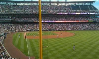 Coors Field section 208