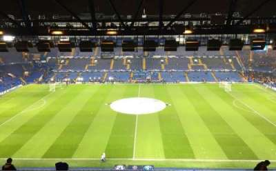 Stamford Bridge, section: WEST STAND UPPER 4, rangée: 14, siège: 106