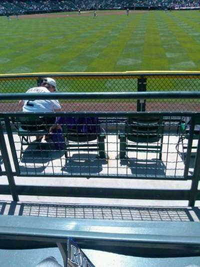 Coors Field section 159