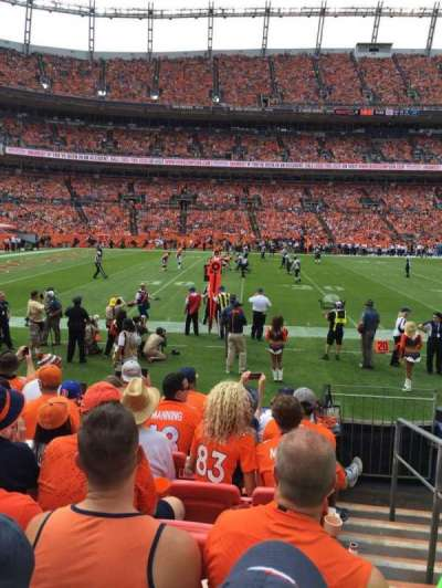 Empower Field at Mile High Stadium section 126