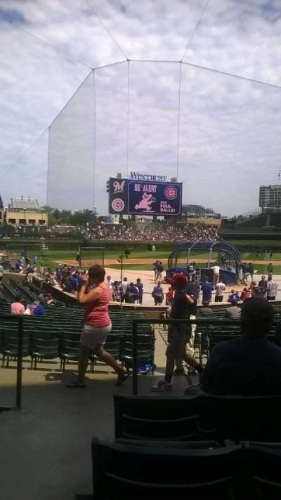 Wrigley Field Section 122 Accueil De Chicago Cubs