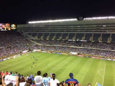 Soldier Field, section: 434, rangée: 14, siège: 19