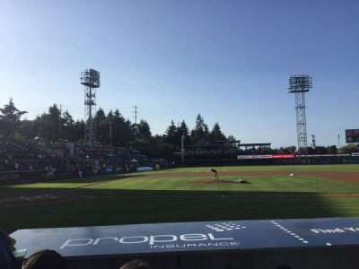 Cheney Stadium, section: 121, rangée: 7, siège: 4