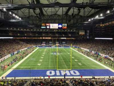 Ford Field, section: 243, rangée: 2, siège: 1