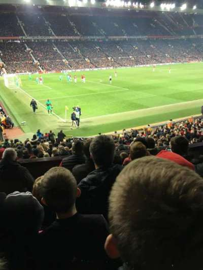 Old Trafford, section: Fam