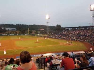 Cheney Stadium, section: B, rangée: 10, siège: 21