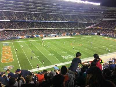 Soldier Field, section: 342, rangée: 15, siège: 7