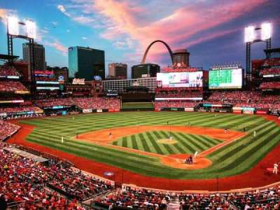 Busch Stadium, section: Box seats