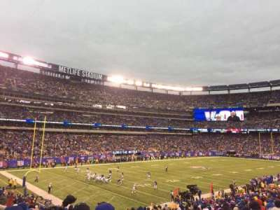 MetLife Stadium, section: 121, rangée: 29, siège: 1and2