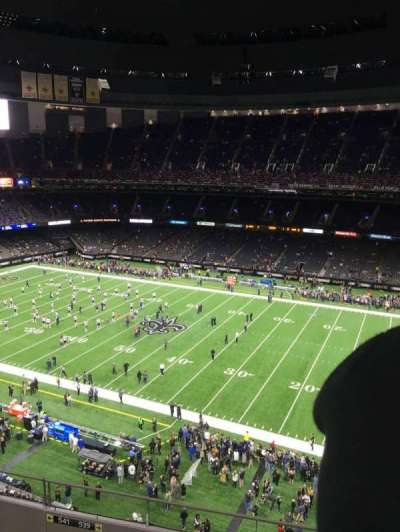 Mercedes-Benz Superdome, section: 636, rangée: 13, siège: 22