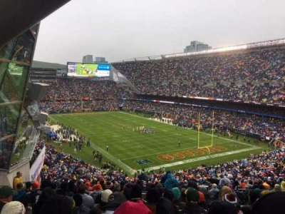 Soldier Field, section: 356, rangée: 12, siège: 4