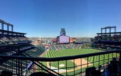 Coors Field section U326