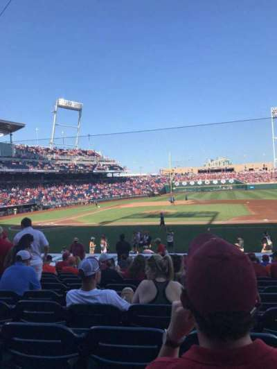 TD Ameritrade Park section 107