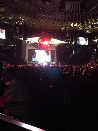 Oakland Arena section 10