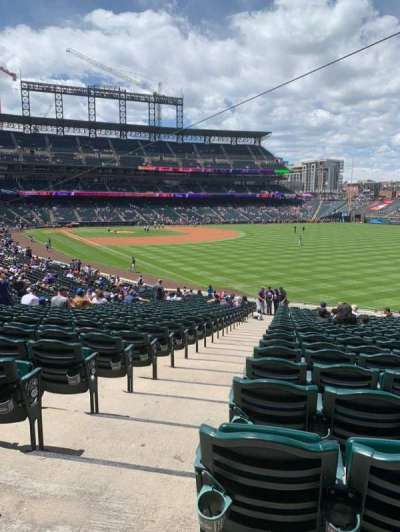 Coors Field section 111