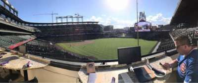 Coors Field section Mountain Ranch Club