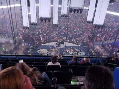 Amalie Arena section Club 5