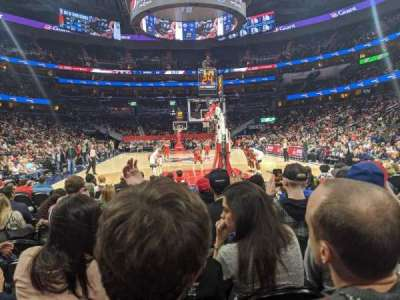 Capital One Arena section Box West