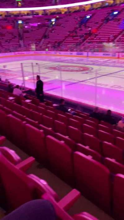 Centre Bell section 123