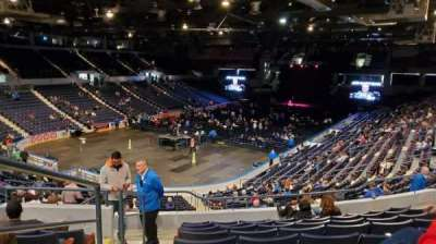 Blue Cross Arena section 218