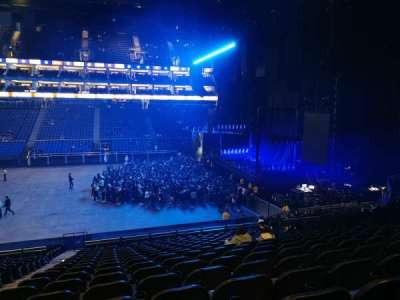 The O2 Arena section L112