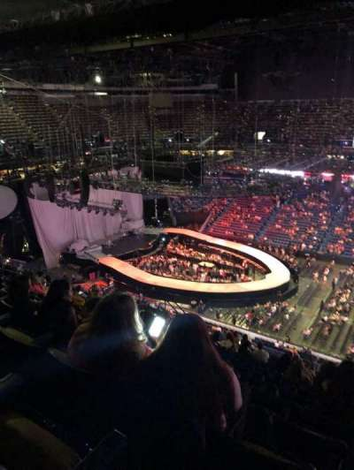 Smoothie King Center section 400