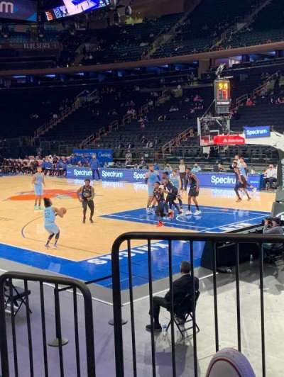 Madison Square Garden section 120