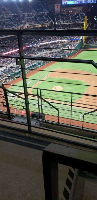 Globe Life Field section 318
