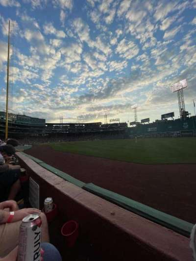 Fenway Park section Right Field Box 3