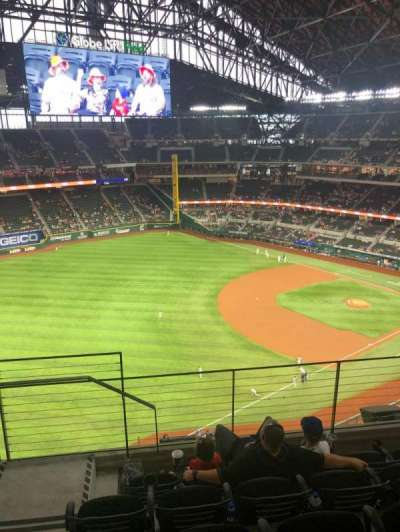 Globe Life Field section 302