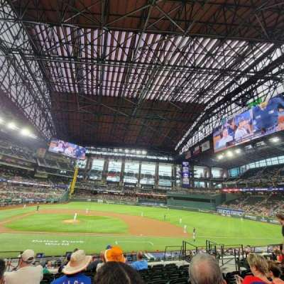Globe Life Field section 18