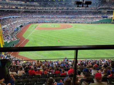 Globe Life Field section 129
