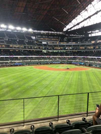 Globe Life Field section 136
