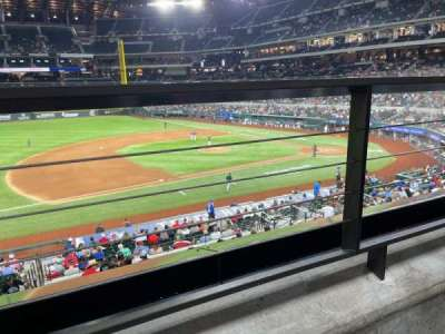 Globe Life Field section 107