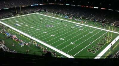 Mercedes-Benz Superdome, section: 607, rangée: 20, siège: 17