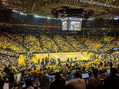 Oakland Arena section C11