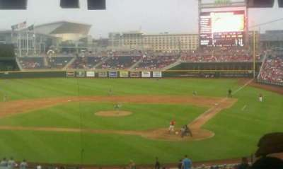 TD Ameritrade Park section 109