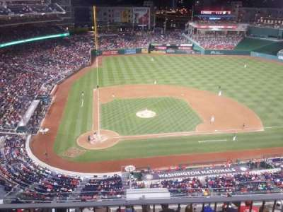 Nationals Park, section: 317, rangée: L