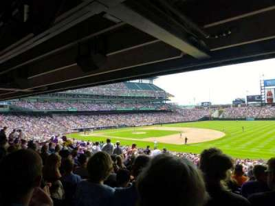 Coors Field section 118