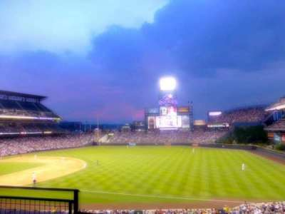 Coors Field section 216